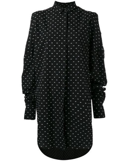 Henrik Vibskov | Black 'bumble' Shirt Dress | Lyst