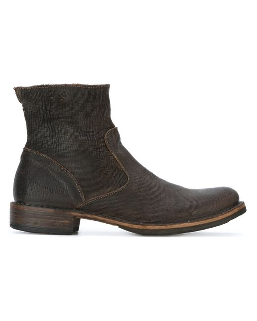 fiorentini baker 39 eternity 39 ankle boots in brown for men. Black Bedroom Furniture Sets. Home Design Ideas