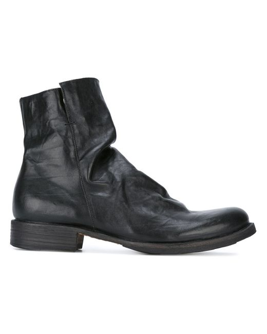 fiorentini baker 39 eternity 39 ankle boots in black for men. Black Bedroom Furniture Sets. Home Design Ideas
