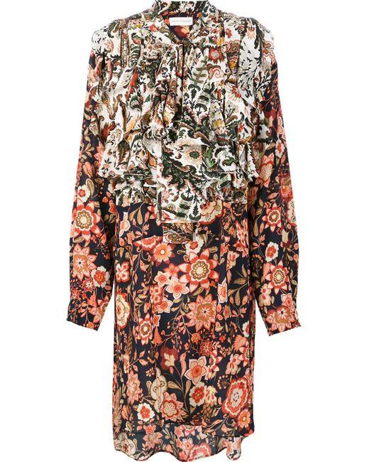 Faith Connexion | Multicolor Printed Shirt Dress | Lyst