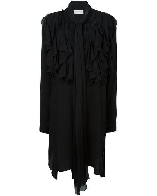 Faith Connexion | Black Ruffled Dress | Lyst