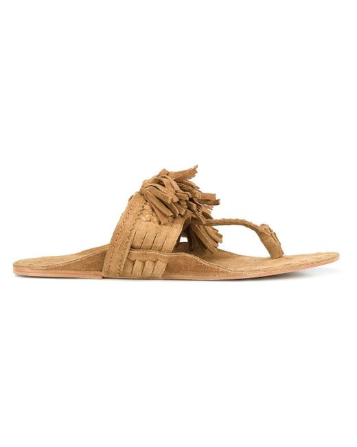 Figue | Brown 'scaramouche' Sandals | Lyst
