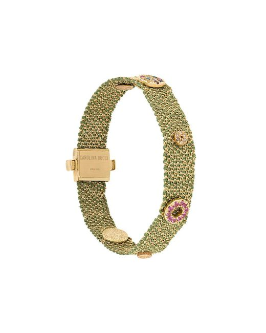 Carolina Bucci | Metallic Melange Woven Bracelet | Lyst