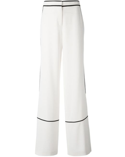 Tory Burch | Multicolor Wide-legged Straight Trousers | Lyst