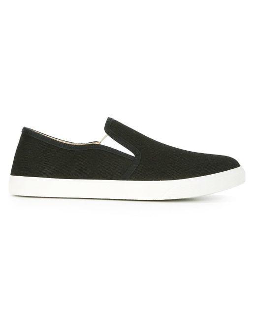Stella McCartney | Black Slip-on Canvas Sneakers for Men | Lyst