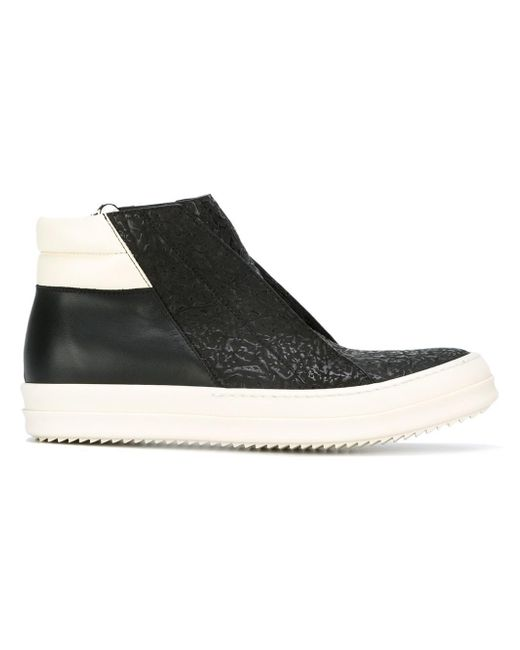 Rick Owens | Black Island Dunk Sneakers for Men | Lyst