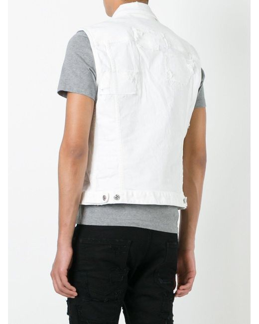 Find great deals on eBay for white sleeveless denim jacket. Shop with confidence.