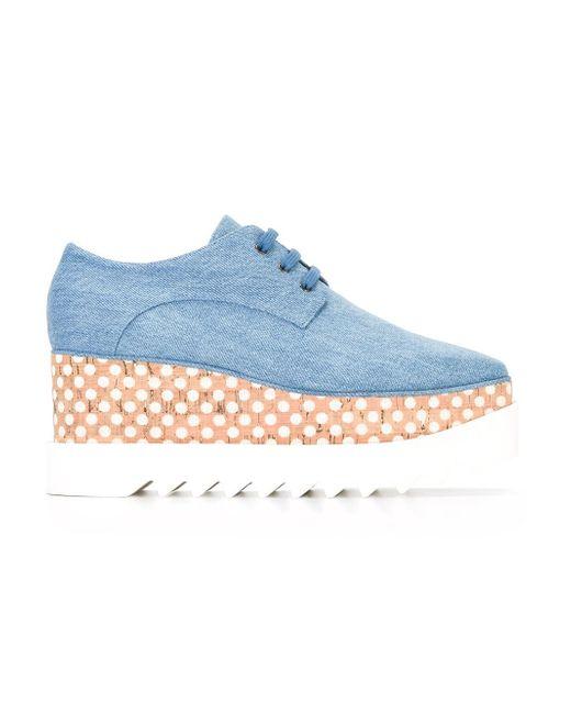 Stella McCartney | Blue Elyse Shoes | Lyst