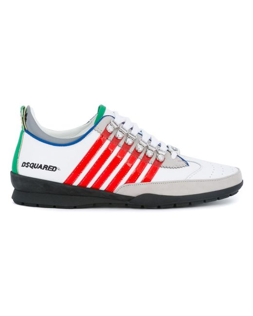 DSquared² | White 251 Sneakers for Men | Lyst