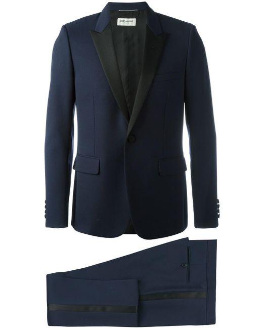 Saint Laurent | Blue Two Piece Dinner Suit for Men | Lyst