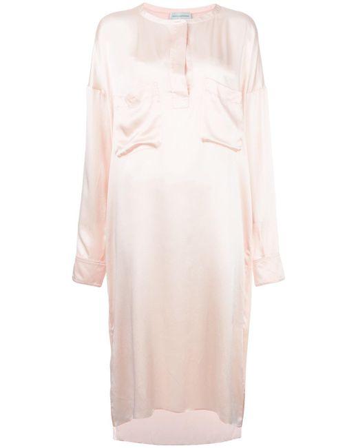 Faith Connexion | Pink Front Placket Shift Dress | Lyst