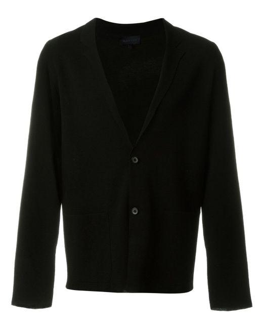Lanvin   Black Blazer Design Cardigan for Men   Lyst