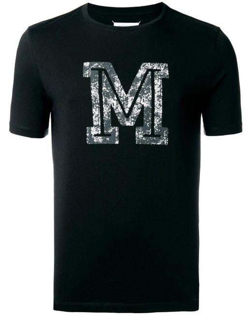 Maison Margiela | Black M Print T-shirt for Men | Lyst