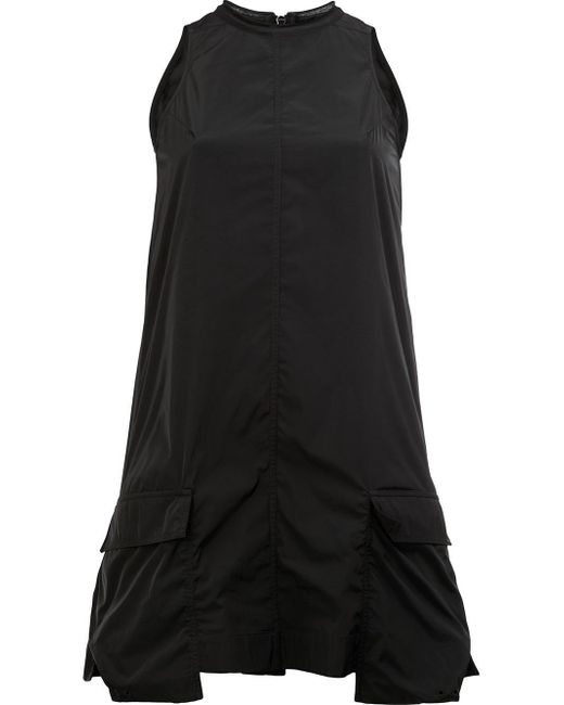 Rick Owens | Black Pockets Flared Tank | Lyst