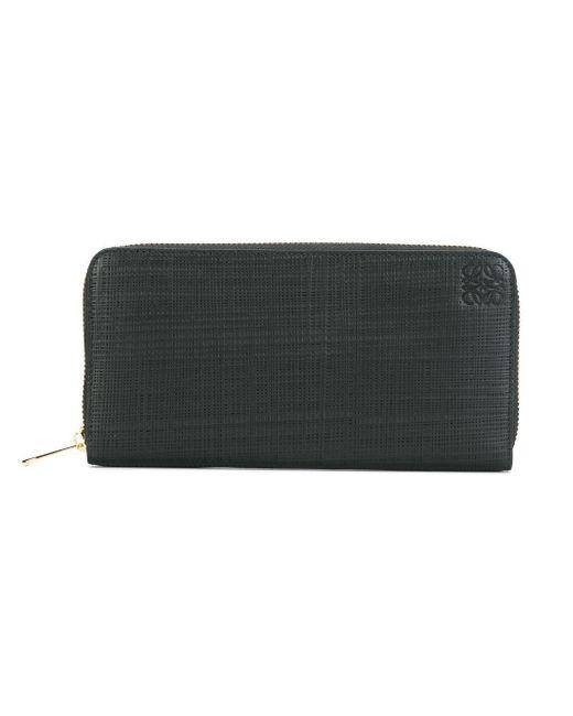 Loewe | Black All Around Zip Wallet | Lyst