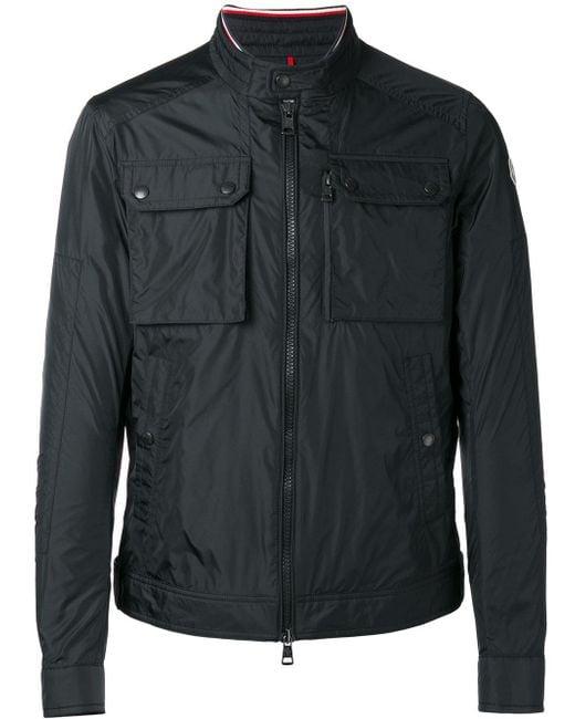Moncler | Black - Levens Jacket - Men - Nylon/polyamide - 2 for Men | Lyst
