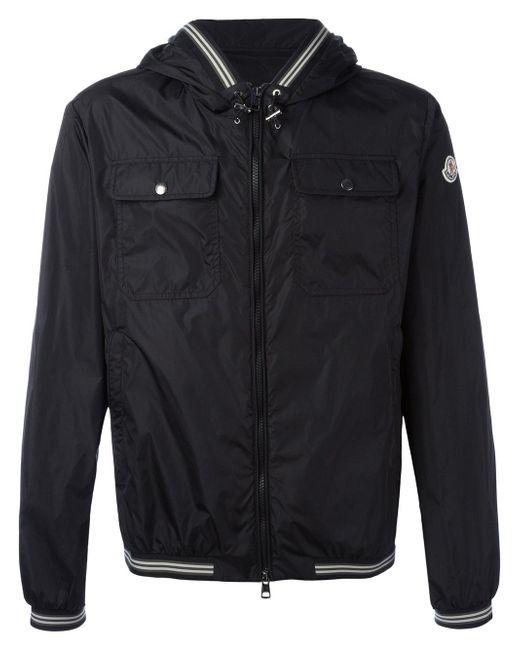 Moncler | Black - Jeanclaude Lightweight Jacket - Men - Nylon/polyamide - 4 for Men | Lyst