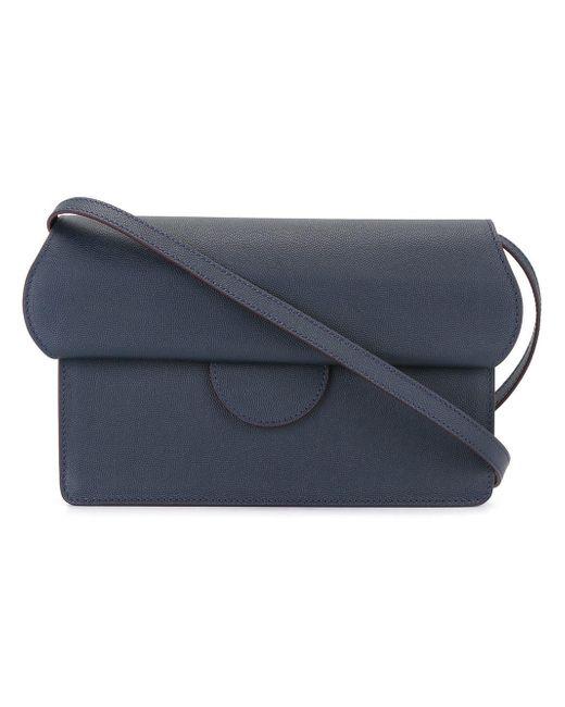 Roksanda   Blue Fold-over Cross-body Bag   Lyst