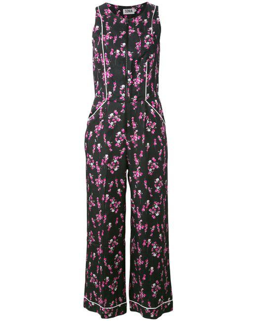 Sonia by Sonia Rykiel | Multicolor Floral Print Jumpsuit | Lyst