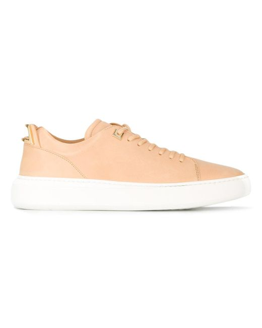Buscemi | Natural Lace-up Sneakers for Men | Lyst
