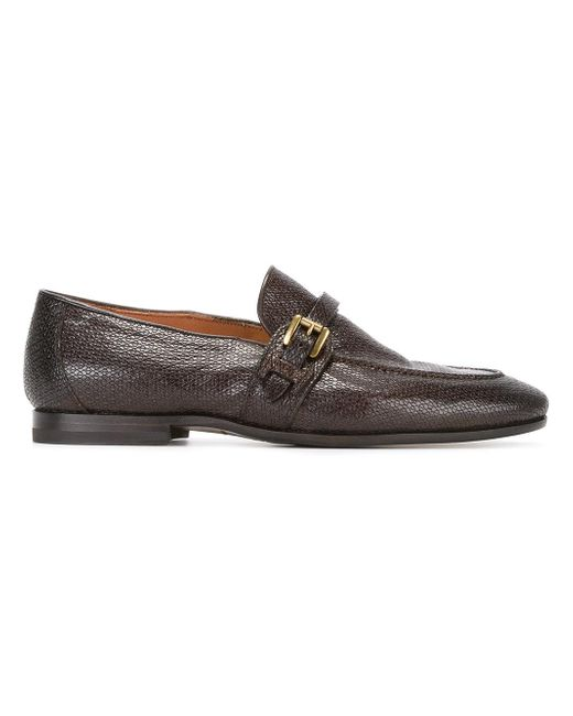 Silvano Sassetti | Brown Buckle Loafers for Men | Lyst
