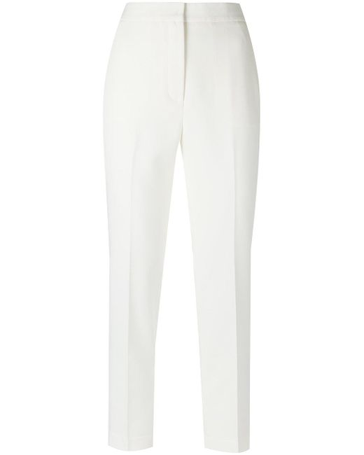 Egrey | White Tailored Trousers | Lyst