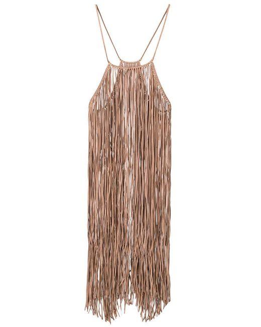 Caravana - Multicolor Bulkabal Fringed Dress - Lyst