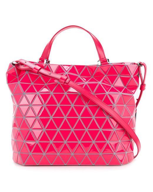 Bao Bao Issey Miyake   Pink Crystal Gloss Tote   Lyst