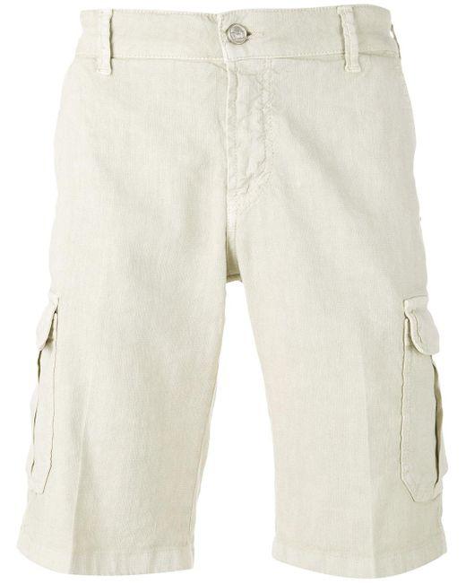 Entre Amis | Natural Cargo Shorts for Men | Lyst