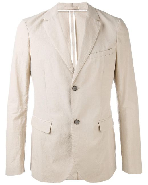 Paolo Pecora   Natural Flap Pockets Blazer for Men   Lyst