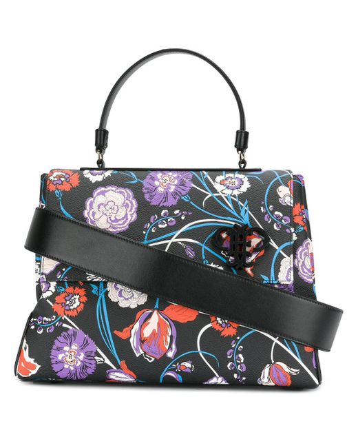 Emilio Pucci | Multicolor Floral Shoulder Bag | Lyst
