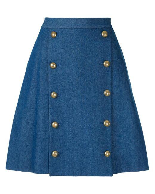 Macgraw   Blue Solar Skirt   Lyst