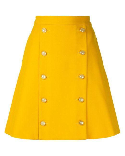 Macgraw | Yellow Solar Skirt | Lyst