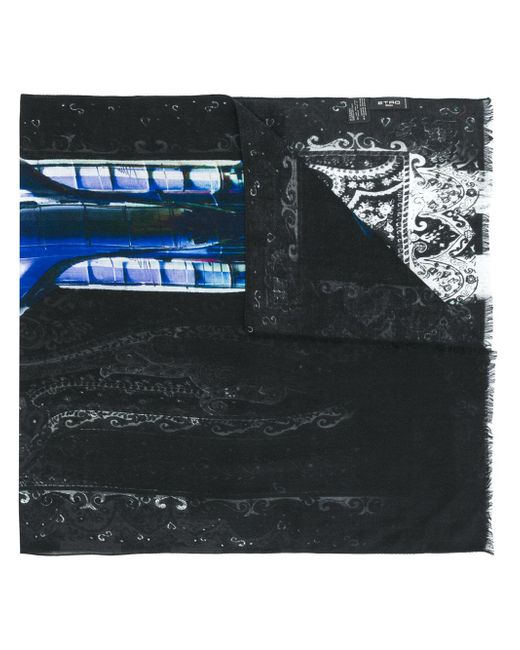 Etro | Multicolor Faded Paisley Print Scarf for Men | Lyst