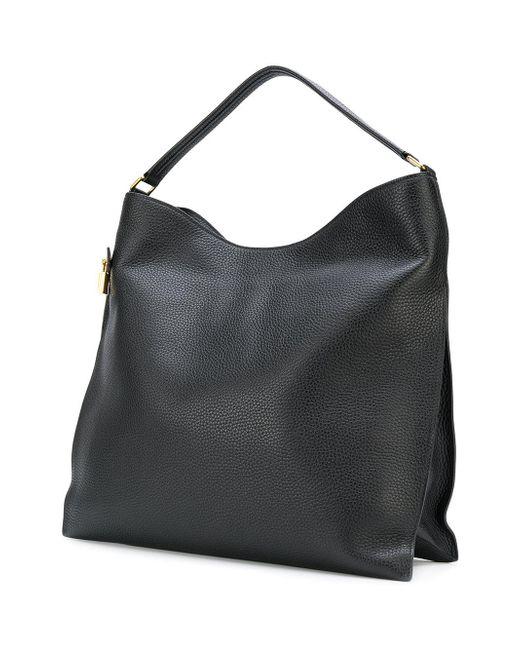 Tom ford Hobo Slouch Shoulder Bag in Black | Lyst