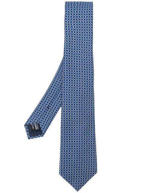 Giorgio Armani | Blue Printed Tie for Men | Lyst