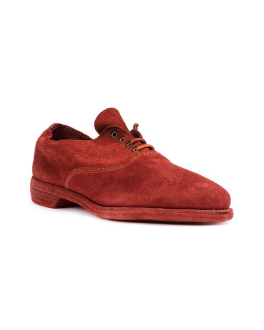 Guidi Oxford Shoes In Red For Men - Save 6% | Lyst