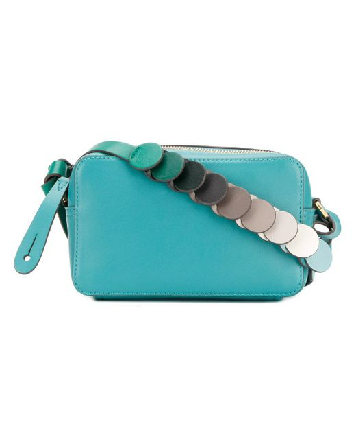 Anya Hindmarch | Blue Circle Strap Crossbody Bag | Lyst