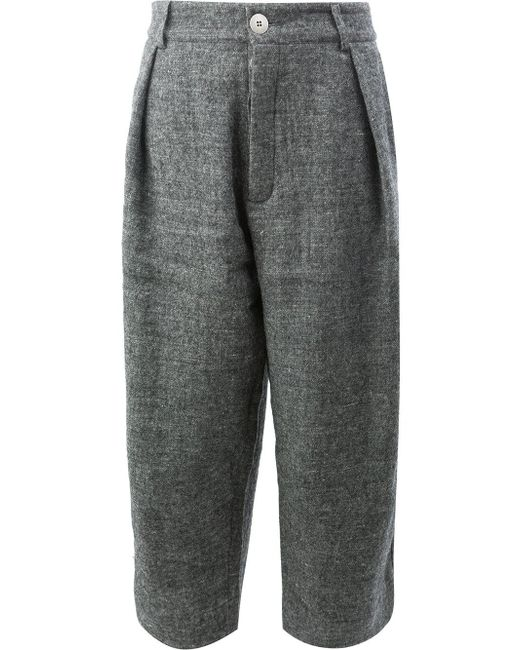 Toogood | Gray The Tinker Cropped Trousers | Lyst