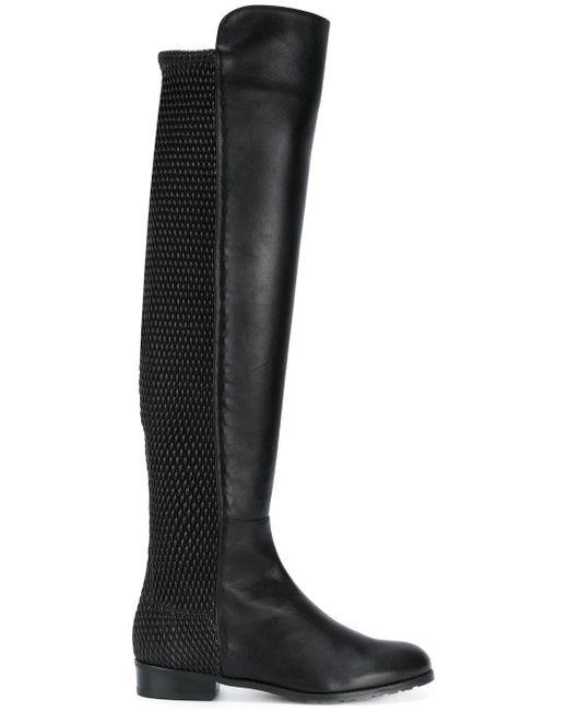 Stuart Weitzman | Black All Good Pelle Boots | Lyst