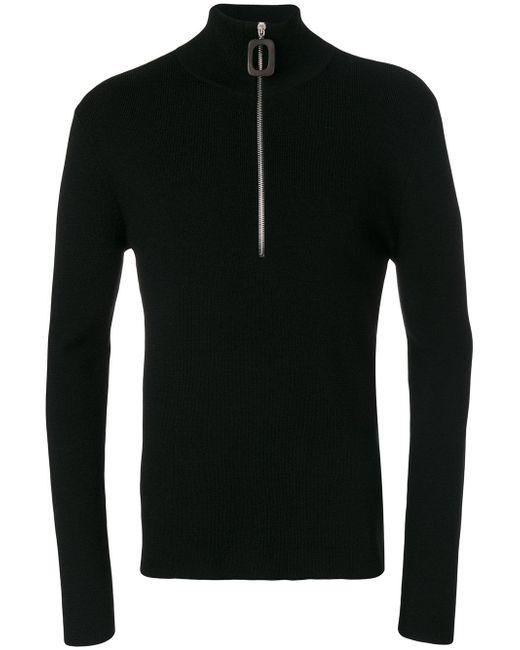 J.W. Anderson   Black Zipped Sweater for Men   Lyst