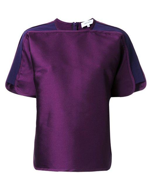 Carven | Multicolor Short Sleeve T-shirt | Lyst