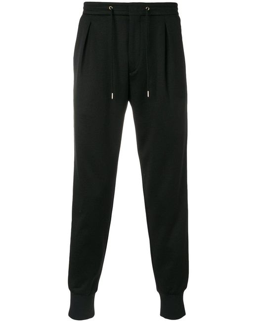 Paul Smith | Black Drawstring Track Trousers for Men | Lyst