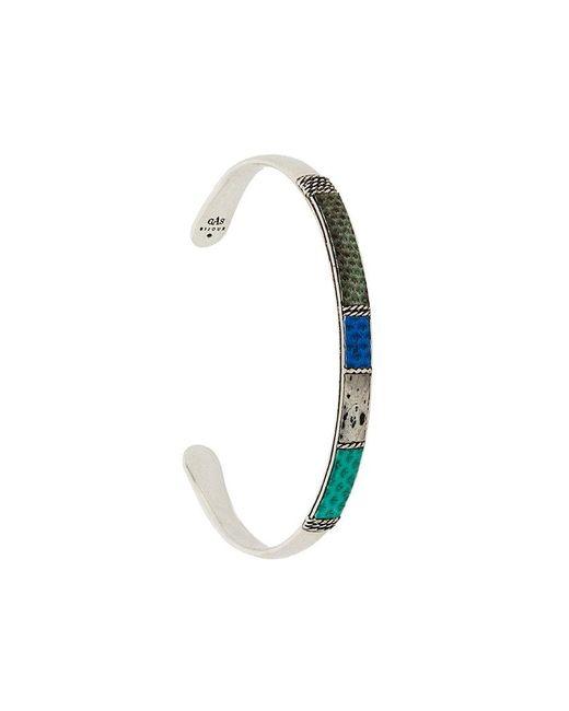 Gas Bijoux - Multicolor Swimming Bangle for Men - Lyst