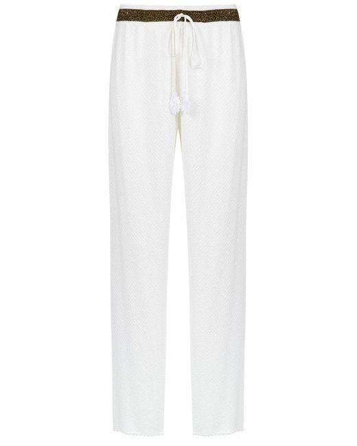 Martha Medeiros - White Wide Leg Trousers - Lyst