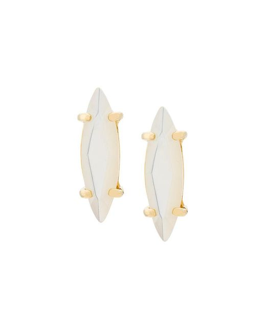Wouters & Hendrix - Metallic Technofossils Mother Of Pearl Earrings - Lyst