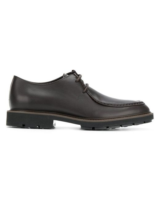 Tod's - Brown Classic Lace-up Shoes for Men - Lyst