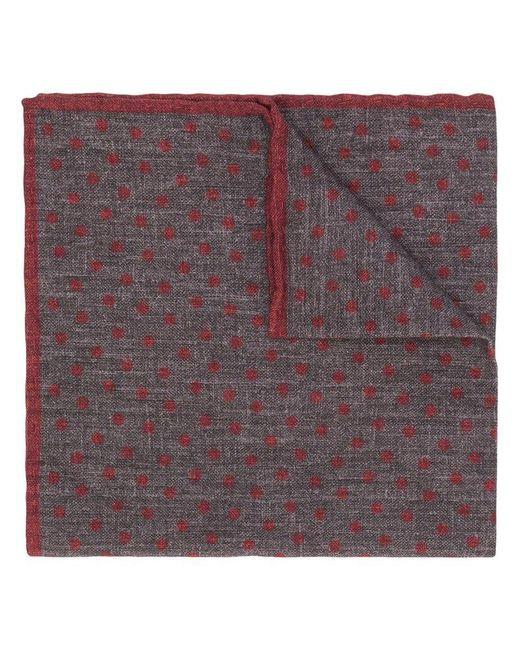 Eleventy - Gray Polka Dotted Handkerchief for Men - Lyst