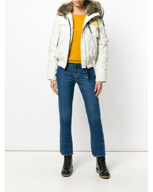 ... parajumpers multicolor hooded puffer jacket lyst