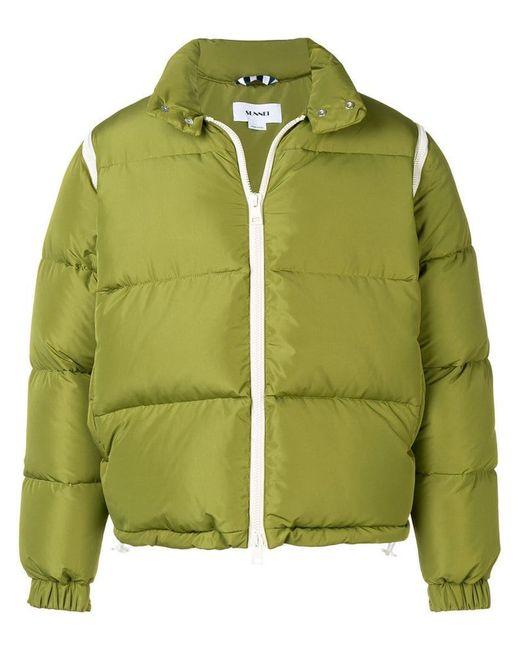 Puffer for Zipped Jacket in Men Sunnei Lyst Green zBqwRR
